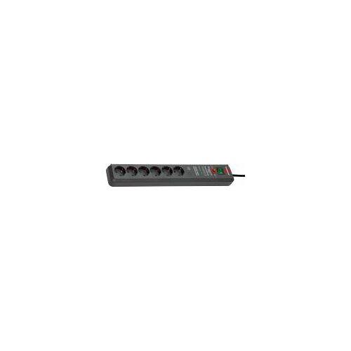 Hugo Brennenstuhl GmbH & Co. Brennenstuhl Secure-Tec 19.500A Überspannungsschutz-Steckdosenleiste, 6-fach, 3m, H05VV-F 3G1,5