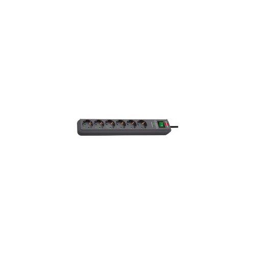 Hugo Brennenstuhl GmbH & Co. Brennenstuhl Eco-Line 13.500A Überspannungsschutz-Steckdosenleiste 6-fach schwarz 1,5m H05VV-F 3G1,5