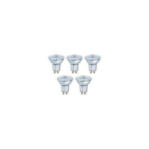OSRAM GmbH Osram 5er Pack LED BASE PAR16 4,3W = 50W GU10 Strahler 350lm 36° 2700K Warmweiß