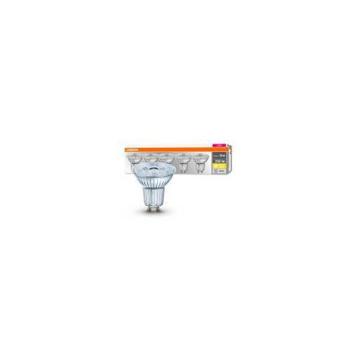 OSRAM GmbH Osram 5er Pack LED BASE PAR16 2,6W = 35W GU10 Strahler 230 lm 36° 2700 K Warmweiß