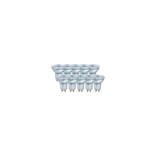 OSRAM GmbH Osram 10er Pack LED BASE PAR16 4,3W = 50W GU10 Strahler 350lm 36° 2700K Warmweiß