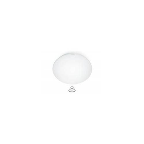 Steinel LED Innenleuchte RS 16 Wandleuchte, Deckenleuchte, 360° Bewegungsmelder, max. 3 - 8 m Reichw