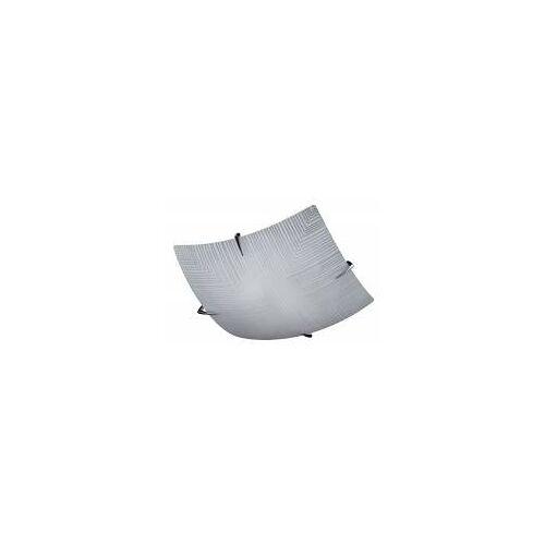Fischer & Honsel Deckenleuchte Tira, 33 x 33 cm, 2 x E27, 40W max, Weiss