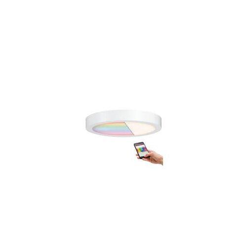 Paulmann Licht Paulmann LED Panel Cesena rund, SmartHome  Zigbee, RGBW, Weiß matt, Deckenleuchte