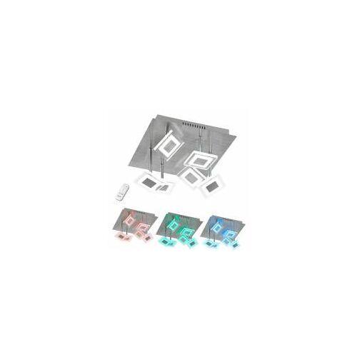 WOFI Leuchten Wofi LED Deckenleuchte Megan, 7-flammig, 7 x 5 W, 350 lm, Dimmbar, RGB-Farbwechsel