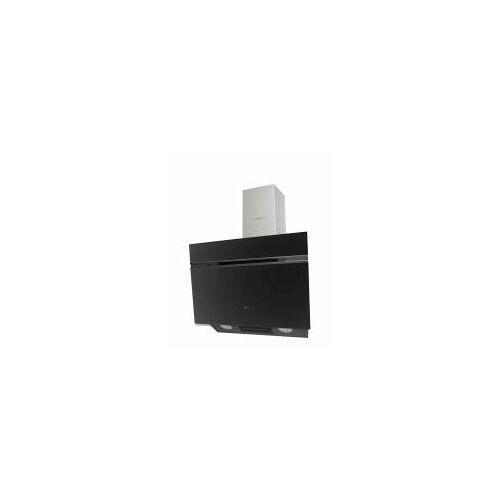 Schneider Wand-Dunstabzugshaube, 60 cm, Schwarz, LED-Beleuchtung, ausziehbarer Teleskopkamin
