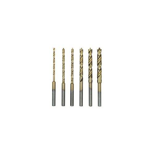 Proxxon GmbH Proxxon HSS Spiralbohrersatz mit Zentrierspitze, 6 tlg. (1,5 bis 4 mm)