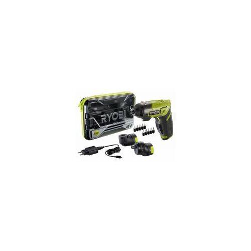 RYOBI ERGO-A2 4 V Akku-Bohrschrauber Mini-Akkuschrauber 1,5 Ah Akku + Zubehör