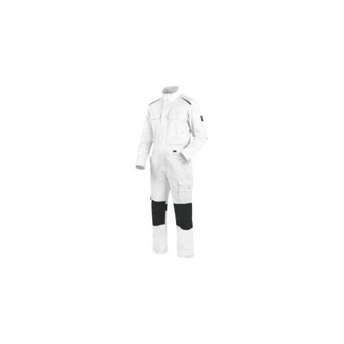 Arbeitsoverall Cetus weiß/anthrazit