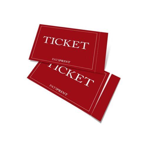 Pati-Versand Eintrittskarten A7 perforiert 160g matt 10 Stück