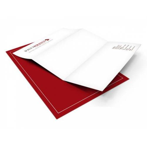 Pati-Versand Briefpapier DIN A4 90g 4/4-farbig 25 Stück