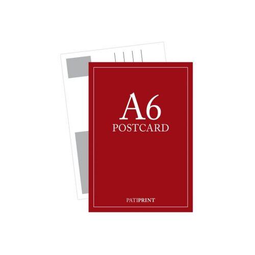 Pati-Versand Postkarte A6 H-Format 340g matt 5 Stück