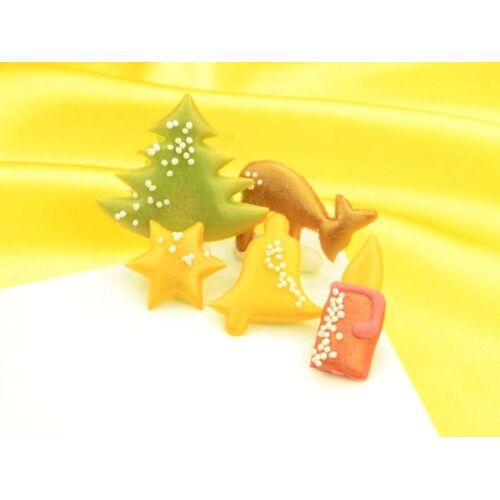 Pati-Versand Weihnachtsdekore Marzipan 145er Set