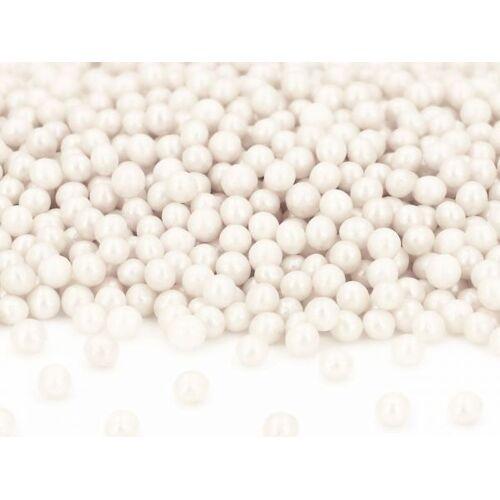 Pati-Versand Weiche Zuckerperlen weiß 100g