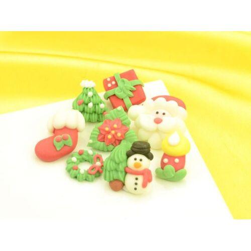 Cake-Masters Weihnachtsdekore Zucker 8er Set