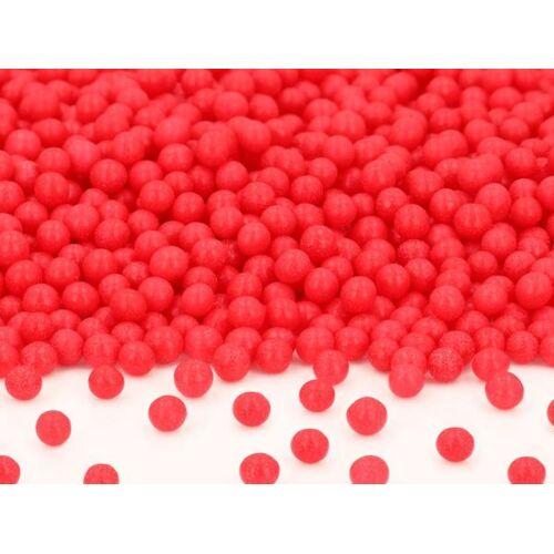 Pati-Versand Weiche Zuckerperlen rot 100g