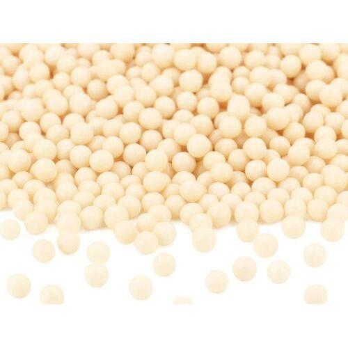 Pati-Versand Weiche Zuckerperlen perlmutt 100g
