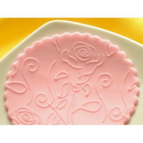 Cake-Masters Strukturwalze Rose