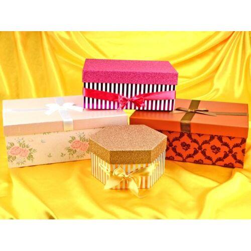 Pati-Versand Geschenkkarton-Set 4er