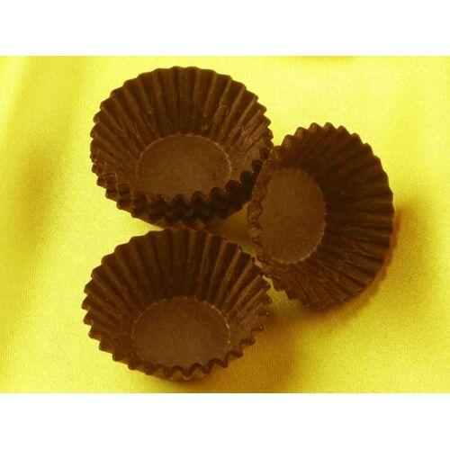 Cake-Masters Pralinenkapseln 25mm braun 100 Stück