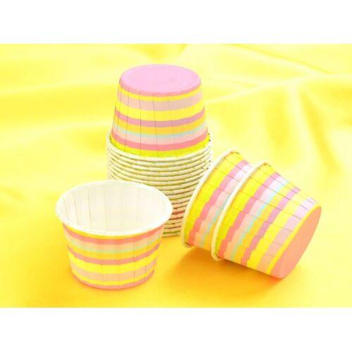 Pati-Versand Cupcake Becher klein Twist 20 Stück