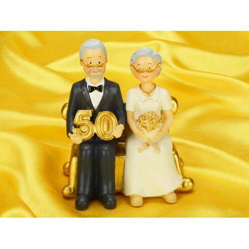 Cake-Masters Tortenaufsatz goldene Hochzeit