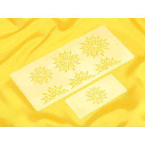dekofee Schablonen Set Blumen #1