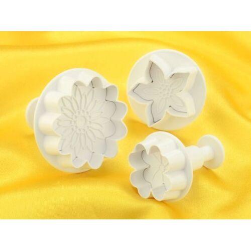 dekofee Stempelausstecher Blüten Mix