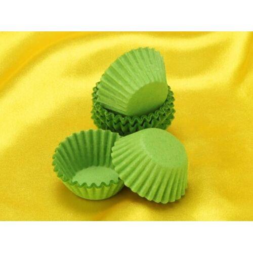 Cake-Masters Pralinenkapseln 25mm grün 100 Stück