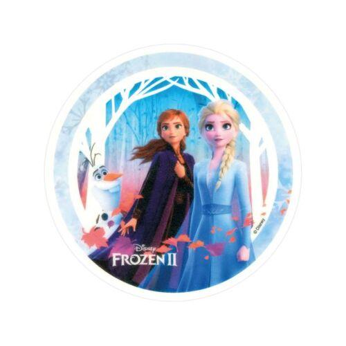 Pati-Versand Tortenaufleger Frozen II Anna, Elsa und Olaf rund 20cm