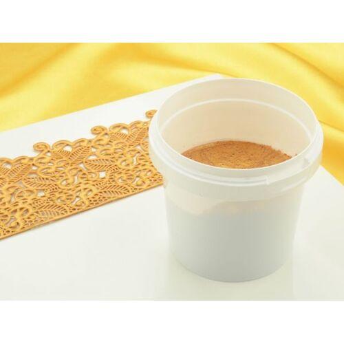 Pati-Versand Fertiges Spitzendekor Pearl Gold 200g