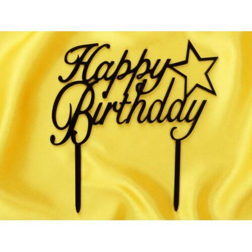 Cake-Masters Cake Topper Happy Birthday