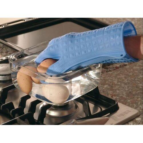 Silikomart Einzel Topfhandschuh blau