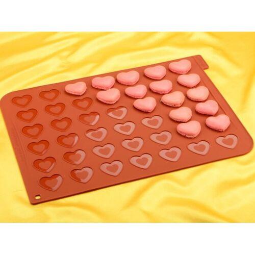 Silikomart Macaron Backmatte Herz