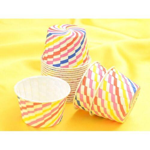 Pati-Versand Cupcake Becher Swirl 20 Stück