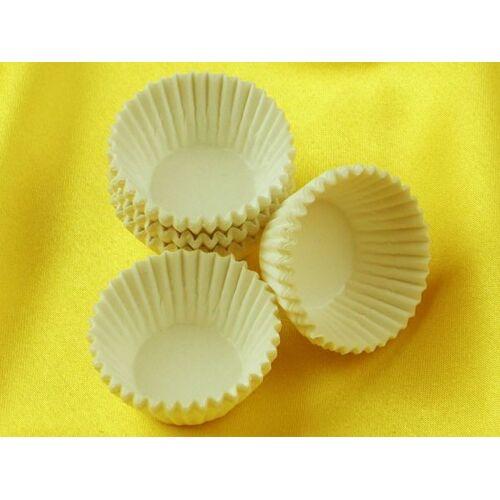 Cake-Masters Pralinenkapseln 25mm weiß 100 Stück