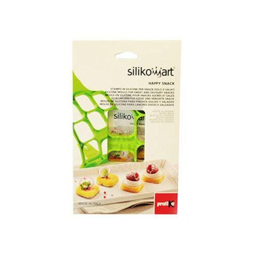 Silikomart Silikon Pfannkuchenform Happy Snack, grün