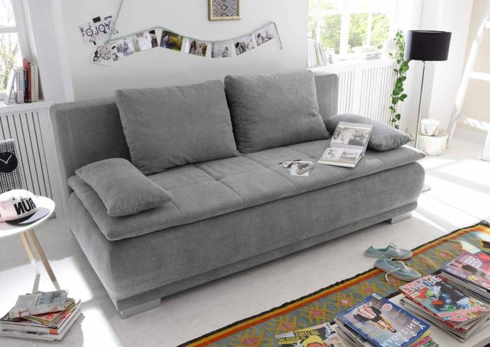 Lifestyle4Living Schlafsofa in g...