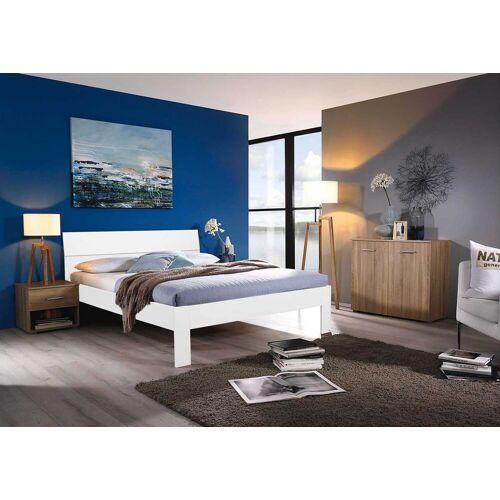 Lifestyle4Living Bett in alpinweiß, Liegefläche 140 x 200 cm
