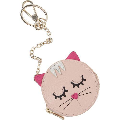 Furla Schlüsselanhänger für Damen, Schlüsselring, Schlüsselkette Günstig im Sale, Pink, Leder, 2017