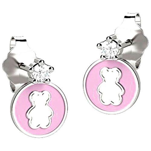 Nanan Ohrring für Damen, Pink, Silber 925, 2017