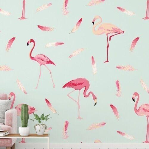 A.S. Creation Fototapete XXL 5   DD115585   Flamingo1  ...