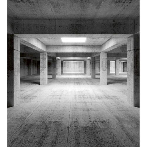 Fototapete INDUSTRIAL HALL   MS-3-0035   Grau   Digitaldruck auf...