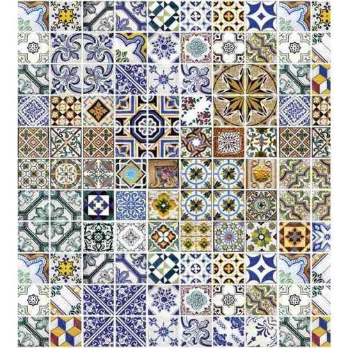 Fototapete PORTUGAL TILES   MS-3-0275   Blau   Digitaldruck auf...