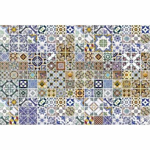 Fototapete PORTUGAL TILES   MS-5-0275   Blau   Digitaldruck auf...