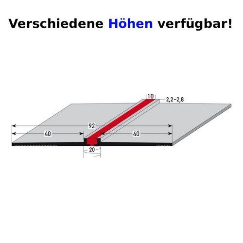 """AUER Fliesenprofil """"Portengen"""" Dehnungsfugenprofil / Trennschiene für..."""