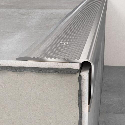 Wiesemann Treppenkantenprofil 40 x 30 x 1200 mm Silber   Treppenkante...