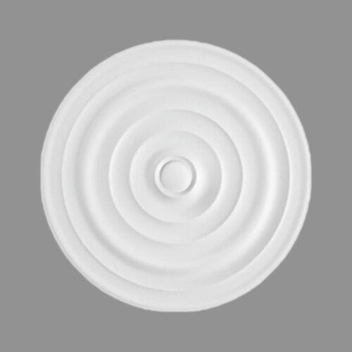 """Marbet Deckenrosette Styropor """"R1""""   Ø 40 cm"""