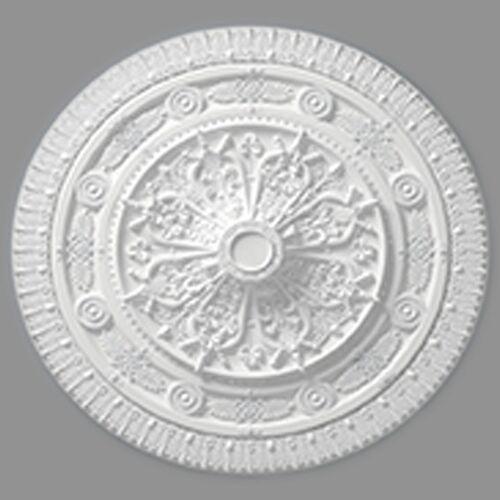 """Marbet Styropor Rosette """"R25""""   70 x 57 cm"""
