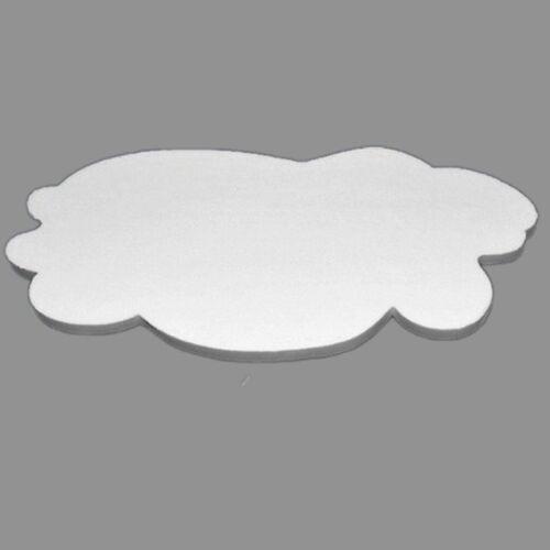 """Wiesemann Deckenrosette Styropor """"riesige Wolke""""   100 x 55 cm"""